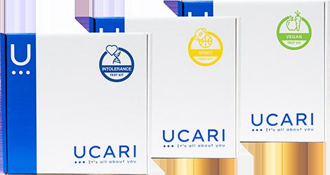 UCARI Test kit types